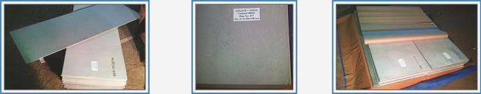 Готовые биметаллические плиты, маркировка биметаллических плит, упаковка биметаллических плит